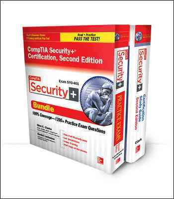 Comptia Security+ Certification Set By Clarke, Glen/ Lachance, Daniel